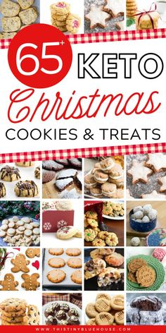 65 Best Festive and Delicious Keto Christmas Cookies This Tiny Blue House Looking for Keto friendly cookies this holiday season Here are 65 delicious Keto Christmas Cook. Low Carb Sweets, Low Carb Desserts, Low Carb Recipes, Lunch Recipes, Dinner Recipes, Keto Cookies, Keto Holiday, Holiday Recipes, Christmas Recipes