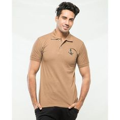 Buy the brand new Multicolor Pack Of 2 Polo T-Shirts With Front Logo at best prices online in Pakistan on Tajori pk the best deal at in Lahore cash on delivery