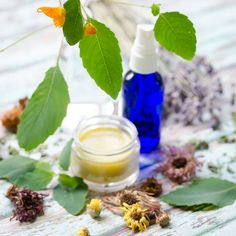 Jewel weed salve and itch relief spray recipe