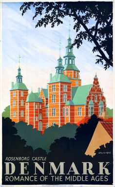 Denmark - Romance of Middle Ages (1946) Art by by Hakon Spliid