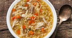 Easy Chicken Noodle Soup - Healthy Quick and Easy Soups