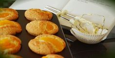 Making Starbucks Discontinued Pumpkin Cream Cheese Muffins At Home Pumpkin Cream Cheese Muffins, Pumpkin Cream Cheeses, Starbucks Pumpkin, Egg Whisk, Cream Cheese Filling, Muffin Cups, Food Themes, Home Recipes, Baking