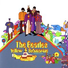 #ONTHISDAY 26 February, 1969: 'Yellow Submarine' LP, 6th week in the ranking (UK New Musical Express chart). #thebeatles #beatles
