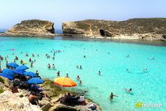 Comino, Malta - Although it measures slightly less than 1.5 square miles, Malta's Comino Island definitely packs an outsized punch. Without a doubt, the top attraction is the Blue Lagoon, an area whose unique topography has created a protected natural swimming pool, complete with submerged caves and radiant blue waters.