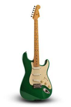 Signed Eric Clapton 1988 Fender Stratocaster : Lot 416