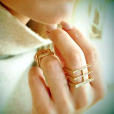 Jewelry Trends for 2016 | Sophie Birgitt Between the Lines ring | Jewelry Trends