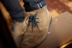 desert suede shoes