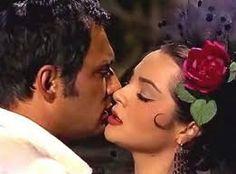 Sara Montiel y Maurice Ronet  en Carmen .1957. Colección de…