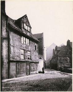 Stockbridge, looking east, Newcastle, 1880
