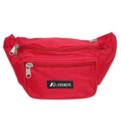 Everest Unisex Large Size Fanny Waist Pack Red -- Read more reviews of the product by visiting the link on the image.