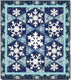 Snowmen are often made as part of a family project in celebration of winter. Here are some *free* snowman and snowflake quilt patterns and t...