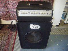 BLACKFIELD 800 R Bass-Amp Vollröhren-Verstärker+ Dynacord Box 60's Vintage | eBay