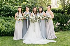 A Modern, Greenery-Filled Wedding at Philly's Horticulture Center
