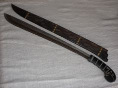 machete toraja, empleado para los sacrificios de animales en los funerales torajas