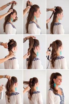 Turn your pony into a cascading side pony—so easy!