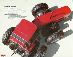 7288/7488 Case Ih Tractors, Big Tractors, Red Tractor, Antique Tractors, Vintage Tractors, Vintage Farm, International Tractors, International Harvester, Classic Tractor