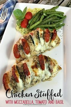 Chicken+Stuffed+with+Mozzarella%2C+Tomato+and+Basil+plated+from+Walking+on+Sunshine+Recipes.jpg (600×900)