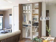 働く女性を応援する家『MOTENA PLUS』 コーワの家写真集 注文住宅 石川県金沢市 Decor, House Design, Furniture, Interior, Home Decor, Entryway