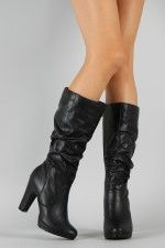 City Classified Hanna-S Slouchy Knee High Boot $34.90