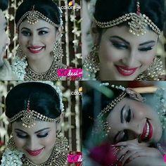 from - Killer smile ❤❤❤ Wedding Looks, Wedding Bride, Dulhan Makeup, Mauni Roy, Mouni Roy Dresses, Bridal Makeover, Stylish Dpz, Glamour Makeup, Bollywood Celebrities