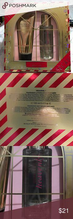 Victoria's Secret Heavenly Gift Set VS Heavenly Gift Set includes: Heavenly Fragrance Lotion and Heavenly Mist/Bruce Parfumee. Victoria's Secret Makeup