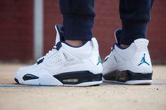 Air Jordan 4 Columbia #Sneaker