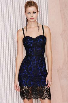 M.A.C x Nasty Gal Gunner Lace Dress | Shop What's New at Nasty Gal