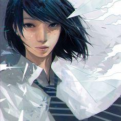 命中 #illustration #girl #girls #school #japan #drawing #photoshop #art #manga #love #follow #l4l #tflers #instagood #instalike #cute #beautiful #animeartshelp #イラスト #イラストレーター #絵 #画 #制服 #女子高生 by wataboku__