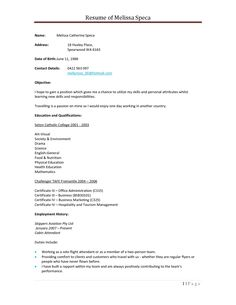 resume with references sample