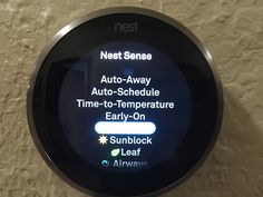 Nest Thermostat, Save Energy, Learning, Studying, Teaching, Education