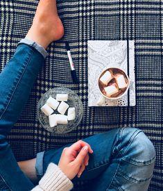 Hot chocolate and marshmallows! #photographybyA.B. #bluejeans #sunnyday