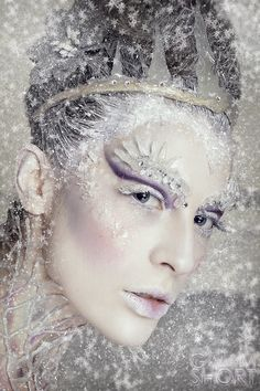 Jardis: Return Of The White Witch Halloween Kostüm, Halloween Makeup, White Witch Costume, Ice Queen Makeup, Ice Princess Makeup, Winter Make-up, Winter Fairy, Narnia Costumes, Ice Queen Costume
