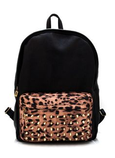Details about Candy Spike Hedgehog Punk Backpack Man Women Kid ...