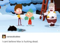 But to be honest Max was already dead inside