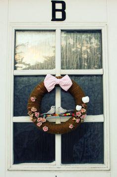 Charming wreath.