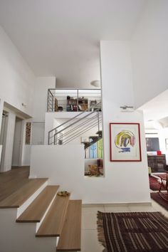 Stairs, Loft, Bed, Interior, Furniture, Studio, Home Decor, Stairway, Decoration Home