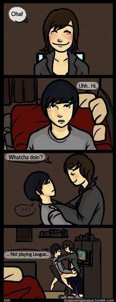"""""""Oh hi.."""" ❤️❤️❤️ Me and Doll (Comic, I think I'm in love with a Derp)"""