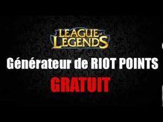 Générateur de Riot Points - FR - Comment Avoir Des Riot Points Gratuit - Octobre 2013
