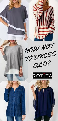 Fashion blouse,I strongly recommand them,how not to dress old? Fall Outfits, Casual Outfits, Cute Outfits, Fashion Outfits, Womens Fashion, Fashion Trends, Dress Fashion, Fresh Outfits, Fashion Ideas