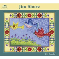 Jim Shore Wall Calendar: Persistence and positioning have proven to be the secrets of Jim Shore's amazing artistic success. Partnered with Disney in 2005, his designs have reached some 25,000 stores worldwide! Make 2013 full of style in your home or office with this collectible.  $15.99  http://calendars.com/Assorted-Folk-Art/Jim-Shore-2013-Wall-Calendar/prod201300005306/?categoryId=cat00033=cat00033#