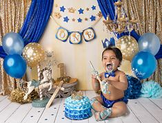 Holly Heine Photography serves Orange County, Los Angeles and San Diego Counties . Baby First Birthday Themes, Prince Birthday Theme, Smash Cake First Birthday, Boys 1st Birthday Party Ideas, 1st Birthday Photoshoot, 1st Birthday Pictures, Baby Boy Birthday, Cars Theme Cake, Prince Cake
