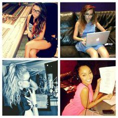 La chicas ya estan grabando el tercer álbum