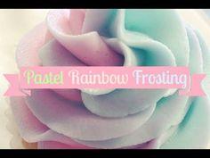 Pastel Rainbow Frosting - Emelyne