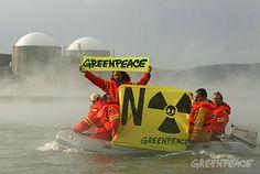 Greenpeace pide al CSN que aclare si Ascó y Almaraz tienen elementos defectuosos fabricados por la empresa francesa Areva