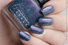I'm sharing some Femme Fatale swatches today! Sophie is back with a brand new collection inspired by Brother's Grimm fairytale Snow White. This collection consists of seven shades and w…