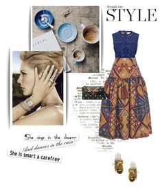"""Без названия #636"" by umacat ❤ liked on Polyvore featuring Bulgari, Sea, New York, Stella Jean, N°21 and Gucci"