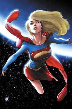 Supergirl is Super Cute – 19 superbes illustrations de la blonde volante   Ufunk.net