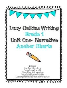 lucy calkins writing workshop first grade Editable writing workshop templates, launching the workshop lessons (note: this is the first thing you see on the document/keep scrolling to skip to the bends for small moments), editable lesson outlines for unit 1 bends 1-4 small moments: writing with focus, detail, and dialogue, extra grammar lessons for writing workshop, editable.