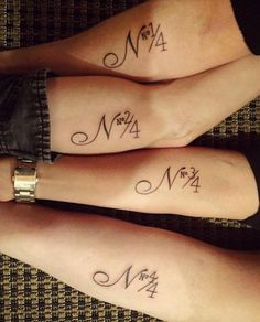 10 #SiblingTattoos That Will Melt Your Heart via Brit + Co
