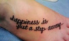 Image result for meaningful foot tattoos